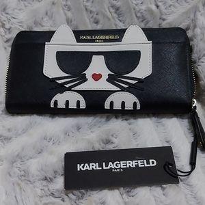 Karl Lagerfeld Cat Wallet